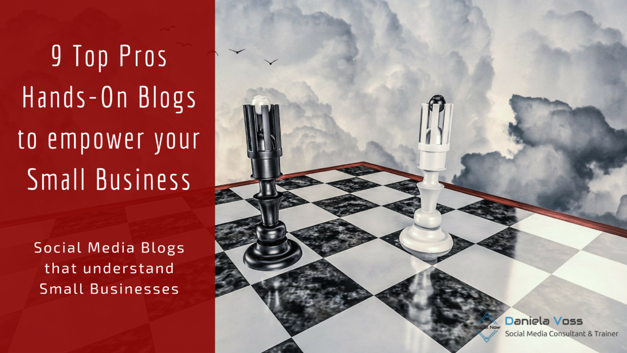 hands-on blogs of top social media experts for small businesses